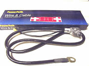 38+lead 4 Ga Top Post,posi/negative Battery Cable Made In Usa By Power Path