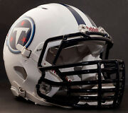 Tennessee Titans Nfl Riddell Speed Football Helmet With Big Grill S2bdc-ht-lw