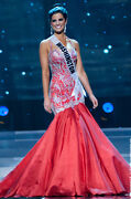 Price Reduced 1800 Sherri Hill Red Custom Pageant Gown Size 2 / 4