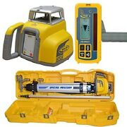 Spectra Ll300 N2 Automatic Self-leveling Laser Level W/hl450 Receiver Rod Tripod