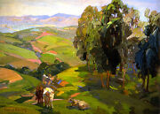 Untitled  By Franz Bischoff Giclee Canvas Print Repro