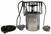 3/4 Hp Kasco Marine Deicer W/ 100and039 Power Cord And 20and039 Ropes For Suspension 120v