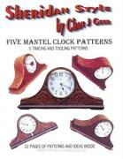 Sheridan Style Mantel Clock Leather Patterns By Chan Geer Leathercraft Designs