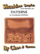 Sheridan Style Checkbook Leather Patterns By Chan Geer Leathercraft Designs