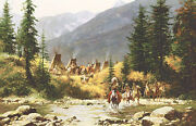 Howard Terpning  Crow Country Make Offer  Wg Dss