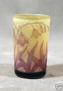 Beautifull Cameo Glass Cup Signed D. Argenthal