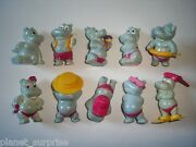 Kinder Surprise Set - Happy Hippos At The Beach 1988 Replications - Figures