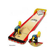 The Simpson Barneyand039s Bowl-a-rama Bowling Game Simpsons Memorabilia Collectors