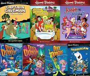 Captain Cavemen Pebbles And Bam Bam, Josie And The Pussycats Duck Dodgers Jabberjaw