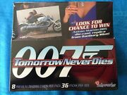 James Bond 007 Tomorrow Never Dies Trading Cards Box - Factory Sealed - Inkworks