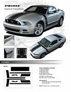 For Ford Mustang All Models Graphics Decals Stripes 1786 Emblems Kit 2013-2014