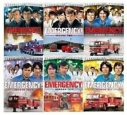 Emergency Tv Series Complete Season 1-6 1 2 3 4 5 And 6 New 25-disc Dvd Set