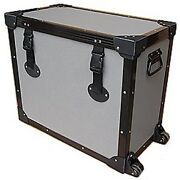 And039tuffboxand039 Light Duty Road Case W/dolly Wheels For Fender 65 Twin Custom 15 Amp