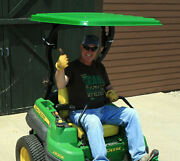 Sun Guard John Deere Canopy For Extreme Forward Leaning Rops Z Trak