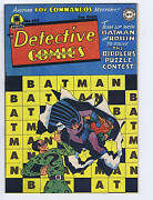 Detective Comics 142 Dc Pub Canadian Edition, 2nd Appearance Riddler