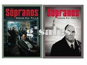 The Sopranos Complete Sixth Season 6 Six, Part 1 And Part 2 New 8-disc Dvd Set