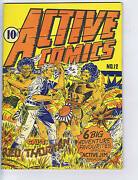 Active Comics 12 Bell Features Scarce Canadian Edition Active Jim