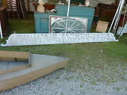 Late 19th Century One Board Sign 13and039l John Manchester Contractor Portsmouth Ri