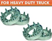 4 Pcs Wheel Adapters 8x170 To 8x170 ¦ Ford F250 F350 Excursion Spacers 1.5