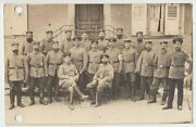1915 Wwi Germany German Soldiers And Officers Group Photo 11th Division