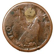St. Patricks Farthing 1/4d Colonial Copper Coin