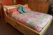 Kingsley Style Custom Made In Vermont Hardwood King Bed Solid Wood Delivery