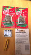 10 Packs Of 6 Christmas Tree Lights Buss Glass Fuses +1 Fuse Puller.6.4.