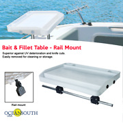 Fillet Bait Table Rail Mount---boat/fishing/cutting