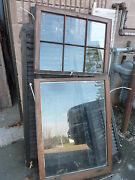 C1900 Antique 6 Pane Over 1 Window Salvaged From Local Victorian Home 30 Wide