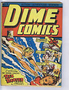 Dime Comics 7 Bell Features Canadian Edition Johnny Canuck Rex Baxter
