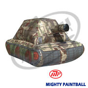 Mighty Paintball Air Bunker Inflatable Bunker - Tank Mp-sb-1029