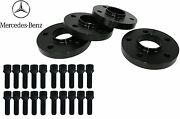 Mercedes Benz C Series W204 Wheels Spacer Kit For Oem Wheels 2 12mm And 2 15mm