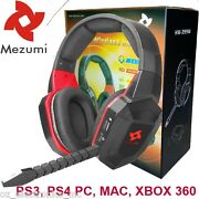 Universal Wireless Gaming Stereo Headset For Ps3 Ps4 Xbox 360 Grand Theft Autogd