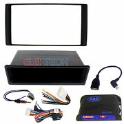 Double Din Radio Dash Kit/harness/antenna/steering Controls For Nissan Vehicles