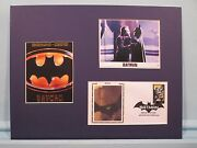 Batman Starring Michael Keaton And Jack Nicholson As The Joker And First Day Cover