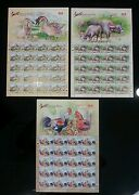 Malaysia Farm Animal 2015 Ox Cow Chicken Duck Chinese Lunar Year Sheetlet Mnh