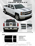 For Chevy Silverado Rally 1500 Graphics Kit Decals Trim Ee3252 Emblems 2014-2015