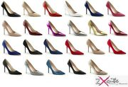 Pleaser Classique 20 4 Stiletto High Heel Pointed Court Shoes Sizes 3-13