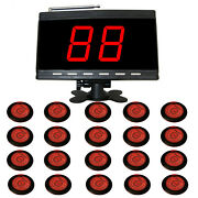 Singcall Wireless Table Calling Systems For Pubkitchen1 Display And 20 Buttons
