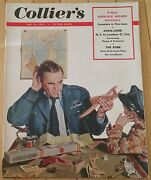Colliers Magazine May 23 1953 Sherlock Holmes Atom Liner Planes The Robe Jazz