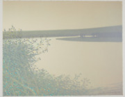 Original Signed Russell Chatham Rare September Afternoon On The Goodnews River