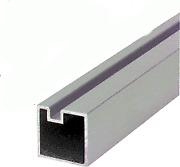 Crl 6406524 Satin Anodized 24 End Aluminum Counter Post