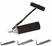 Crl Rz5k1t Foam-grip Push-button Cold Knife Kit With 18 Blades