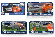 Battery Operated Husqvarna Toys Chainsaw Leaf Blower Hedgetrimmer String Trimmer
