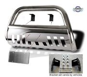 Fits 2009-2017 Nissan Frontier Classic Bull Bar Stainless Steel Chrome