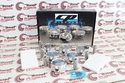 Cp Pistons For Bmw M54b30 8.5 Cr 85mm Bore 3.0l 6 Cyl. Piston For Set Twin Vanos