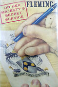 On Her Majestyand039s Secret Service By Ian Fleming First British Edition