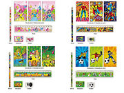 Kids Stationery Sets - Toy Loot Party Bag Fillers Wedding - Pack Of 6 Sets