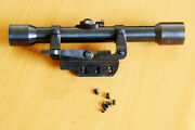 Mauser K98 Sniper Zf39 Scope And Side Mount Reproductions All Steel Rsm