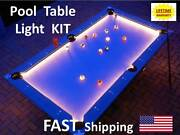 Led Pool And Billiard Table Lighting Kit -light Your Pool Cue Stick Rack Accessory